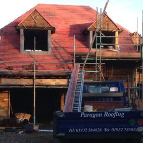 New roof for a new build by Paragon Roofing Ltd