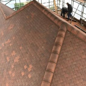 New roofing job completed by our team