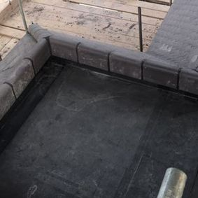 A flat roof done by our talented team