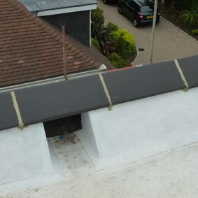 flat asphalt roofing done by our talented team